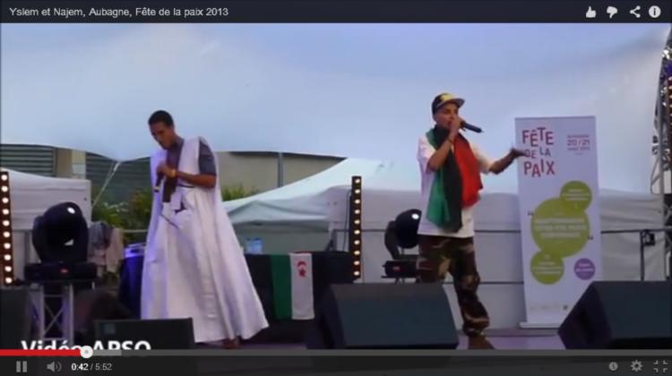 Yslem et Najem, Aubagne, Fête de la paix 2013