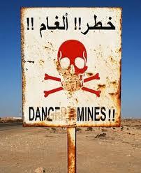 danger de mina